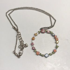 Brighton Floral Open Ring Necklace